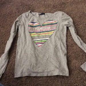 Gray l'amour T-shirt